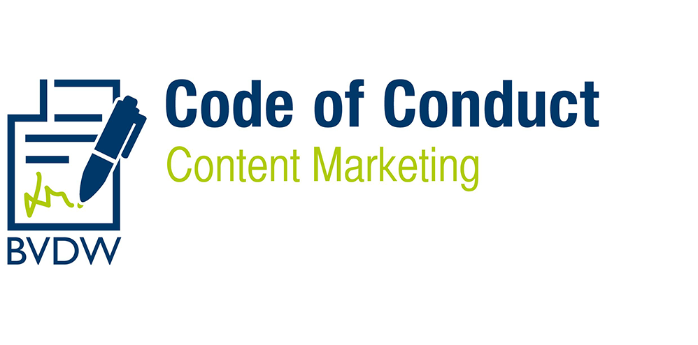 Content Marketing - BVDW Code of Conduct
